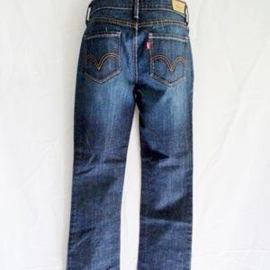 NEW Womens LEVI'S PERFECT WAIST 525 Boot Cut Jeans